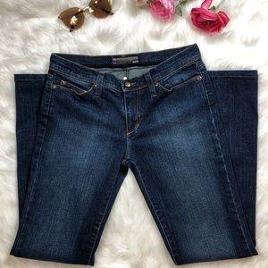 "Joe's Jeans Bootcut Jeans ""Saphire"" Dark Wash"